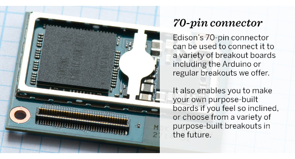 70-pin connector