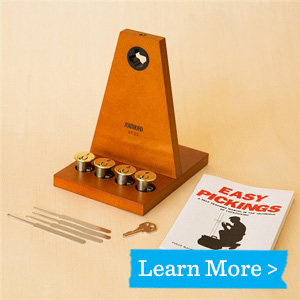 Lock Pick School In a Box