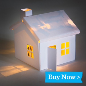 Bare Conductive Glowing House