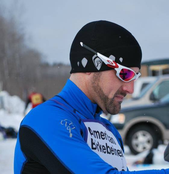 Vince at the Birkie